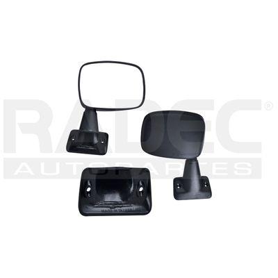 Yctze Espejo retrovisor pl/ástico ABS el/éctrico Espejo retrovisor completo Espejo retrovisor para N-issan NV200 2010-2016 Repuestos automotrices Correcto